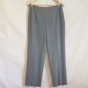 TALBOTS Classic Career Gray Trousers pants 8P